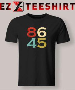 T-Shirt 8645 Dump Trump Vintage
