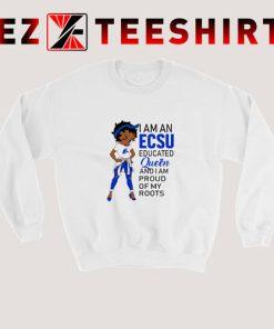Betty Boop I Am An Elizabeth City State University's Educated Queen Sweatshirt