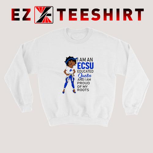 Betty Boop I Am An Elizabeth Sweatshirt