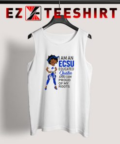 Betty Boop I Am An Elizabeth City State University's Educated Queen Tank Top