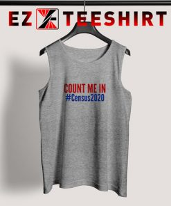 Count Me In Census 2020 Tank Top 247x296 - EzTeeShirt Ezy Buy Clothing Store