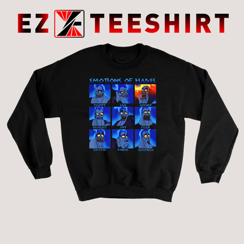 Disney Hercules Hades Emotions Sweatshirt