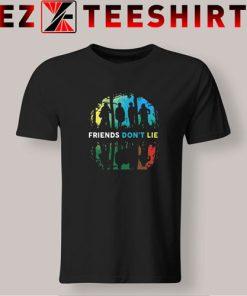 Friends Don't Lie Gif Stranger T-Shirt