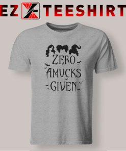 Hocus Pocus Zero Amucks Given T-Shirt