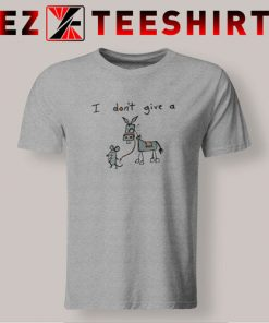 I Don't Give A Rat's T-Shirt