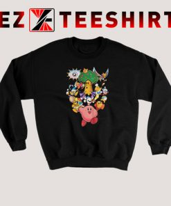 Kirby Gang Black Sweatshirt