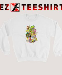 Nickelodeon Cartoons Combo Sweatshirt