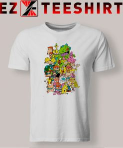 Nickelodeon Cartoons Combo T-Shirt