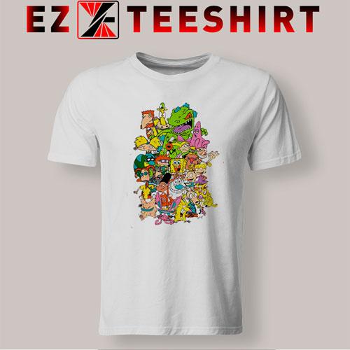 Nickelodeon Cartoons Combo T-Shirt