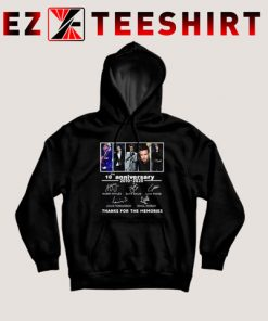 One Direction 10th Anniversary Thanks For The Memories Hoodies