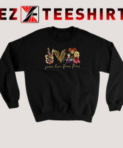 Peace Love Hocus Pocus Sweatshirt 247x296 - EzTeeShirt Ezy Buy Clothing Store
