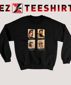 Renaissance Ninja Artist Sweatshirt