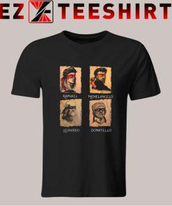 Renaissance Ninja Artist Tshirt