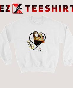 Strong Nurse Pittsburgh Steelers Stethoscope Sweatshirt 247x296 - EzTeeShirt Ezy Buy Clothing Store