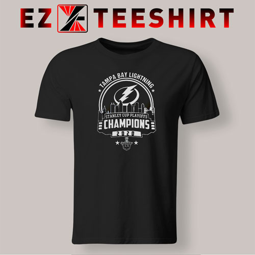 Tampa Bay Lightning Stanley Cup Champions 2020 T-Shirt