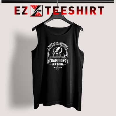 Tampa Bay Lightning Stanley Cup Champions 2020 Tank Top
