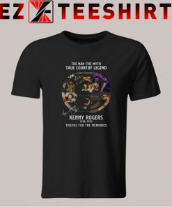 The Man The Myth True Country Legend Kenny Rogers 1938 2020 Tshirt
