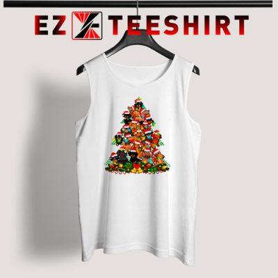Dachshund Christmas Tree Tank Top