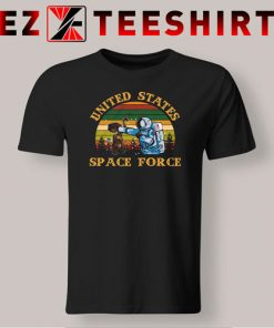 Alien United States Space Force Retro T-Shirt