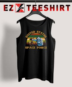 Alien United States Space Force Retro Tank Top