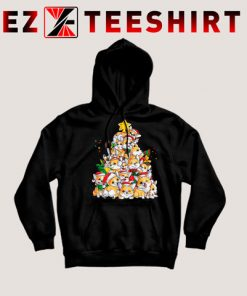 Corgi Christmas Tree Hoodie