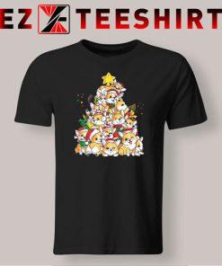 Corgi Christmas Tree T-Shirt