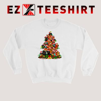 Dachshund Christmas Tree Sweatshirt