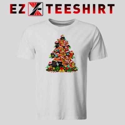 Dachshund Christmas Tree T-Shirt