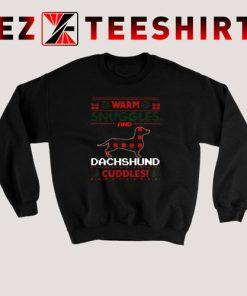 Dachshund Dog Christmas Pajama Sweatshirt