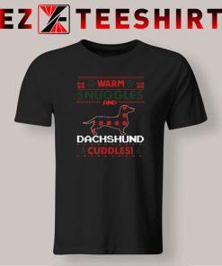 Dachshund Dog Christmas Pajama T-Shirt