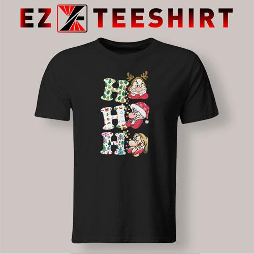 Grumpy Ho Ho Ho Christmas T-Shirt