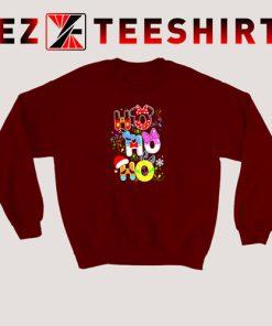 HO HO HO Cute Disney Christmas Sweatshirt