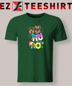 HO HO HO Cute Disney Christmas T-Shirt