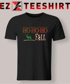 Ho Ho Ho Yall Christmas T-Shirt