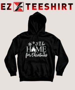 I'll be Home for Christmas Disney Castle Hoodie