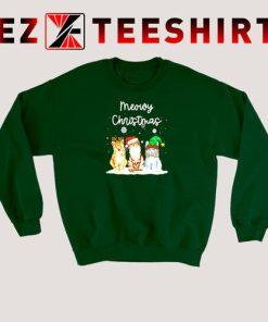 Meowy Christmas Cats Sweatshirt