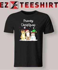 Meowy Christmas Cats T-Shirt