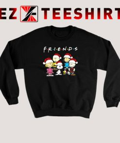 Peanut Snoopy and Friends Merry Christmas Sweatshirt