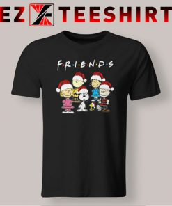 Peanut Snoopy and Friends Merry Christmas T-Shirt