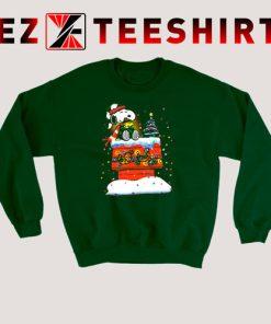 Snoopy and Woodstock Merry Christmas Sweatshirt