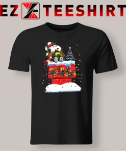 Snoopy and Woodstock Merry Christmas T-Shirt