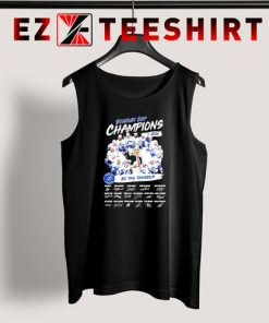 Stanley Cup Champions 2020 Be The Thunder Signatures Tank Top