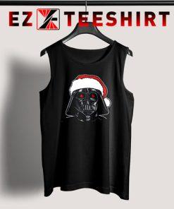 Star Wars Santa Darth Vader Sketch Christmas Tank Top