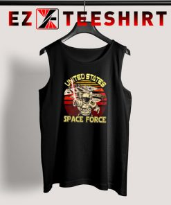 United States Space Force Vintage Tank Top