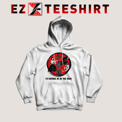 Aikido Id Rather Be In The Hoodie 400x400 - EzTeeShirt Ezy Buy Clothing Store