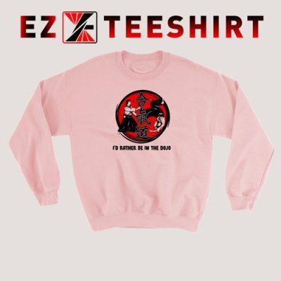 Aikido Id Rather Be In The Sweatshirt 400x400 - EzTeeShirt Ezy Buy Clothing Store