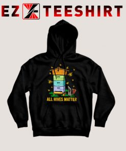 All Hives Matter Funny Beekeeping Hoodie