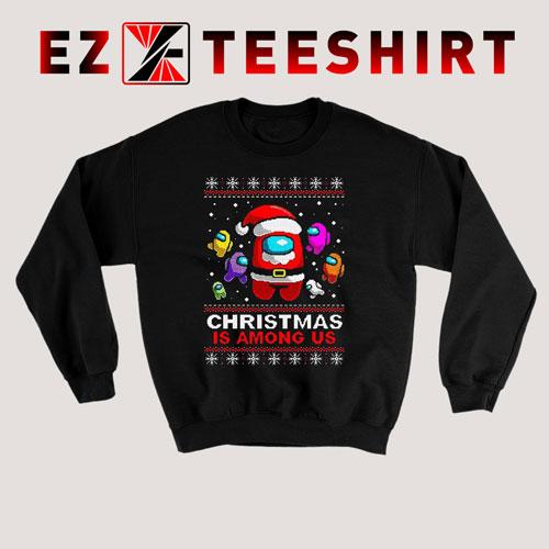 Among Game Us Christmas Sweatshirt
