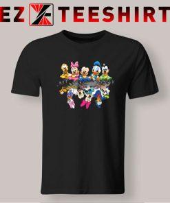 Disney Mickey Mouse Water Mirror Reflection T Shirt 247x296 - EzTeeShirt Ezy Buy Clothing Store