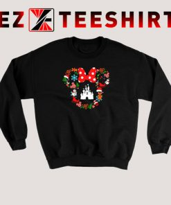 Minnie Head Castle Disney Christmas Sweatshirt 247x296 - EzTeeShirt Ezy Buy Clothing Store